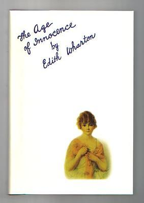 Age of Innocence by Edith Wharton The First Edition Library Facsimile Hardcover