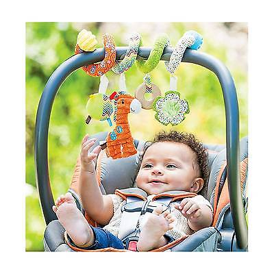 Car Seat Toy Infantino Go GaGa Spiral Activity Children Toddler Play Learn Baby