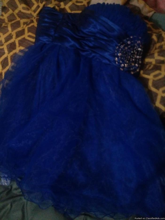 A prom dress
