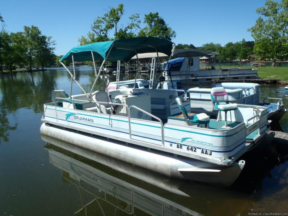 Grumman 20ft Sportfish 40hp Yamaha no trailer