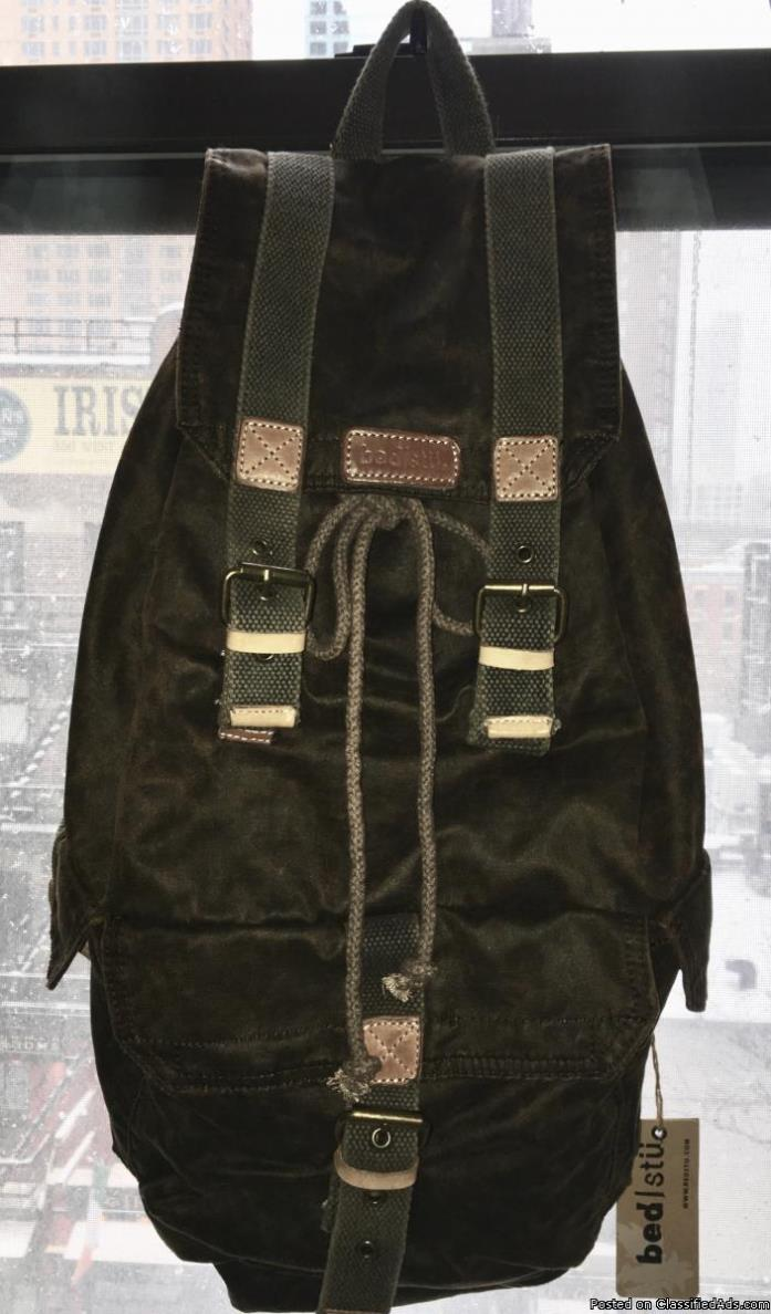 BED STU Brand New with Tags SOLD OUT Coolest backpack ever!!!
