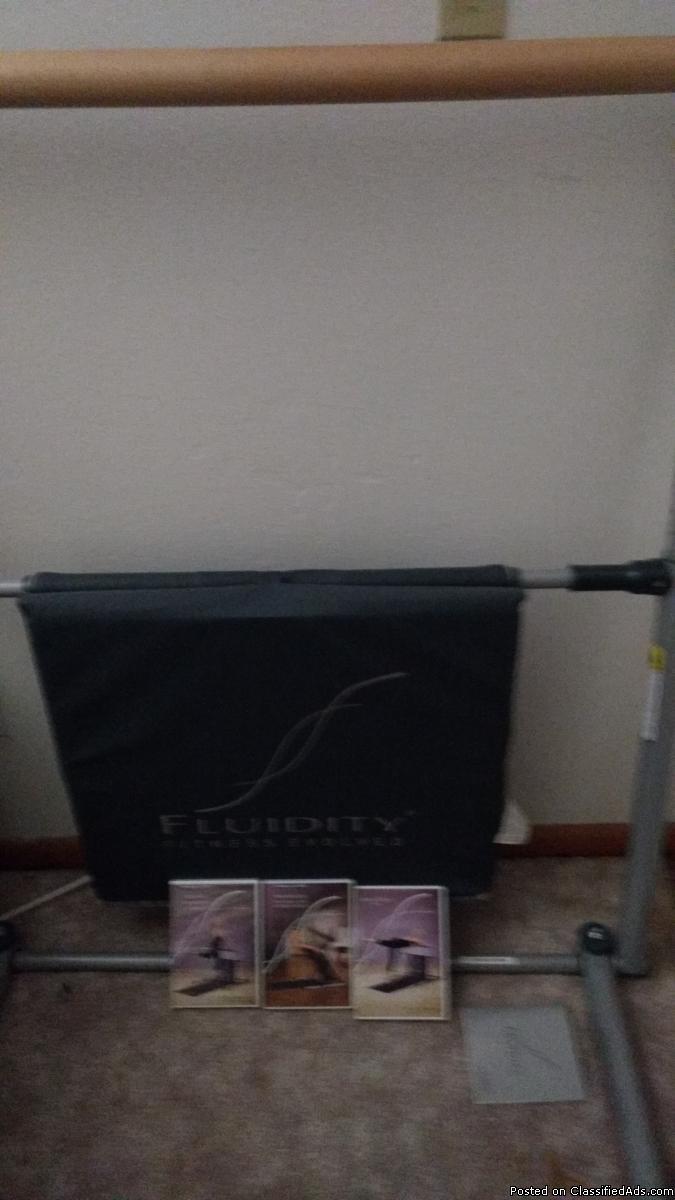 Fluidity fitness bar