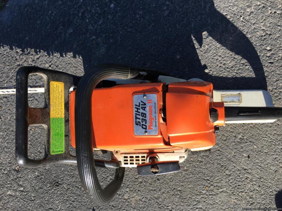 Stihl 038 magnum II chainsaw