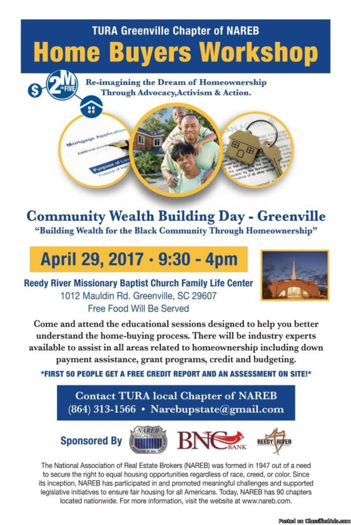 Commuinity Wealth Building Day - Greenville