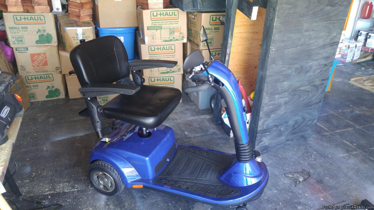 Power Scooter, Electric lift for car and walker