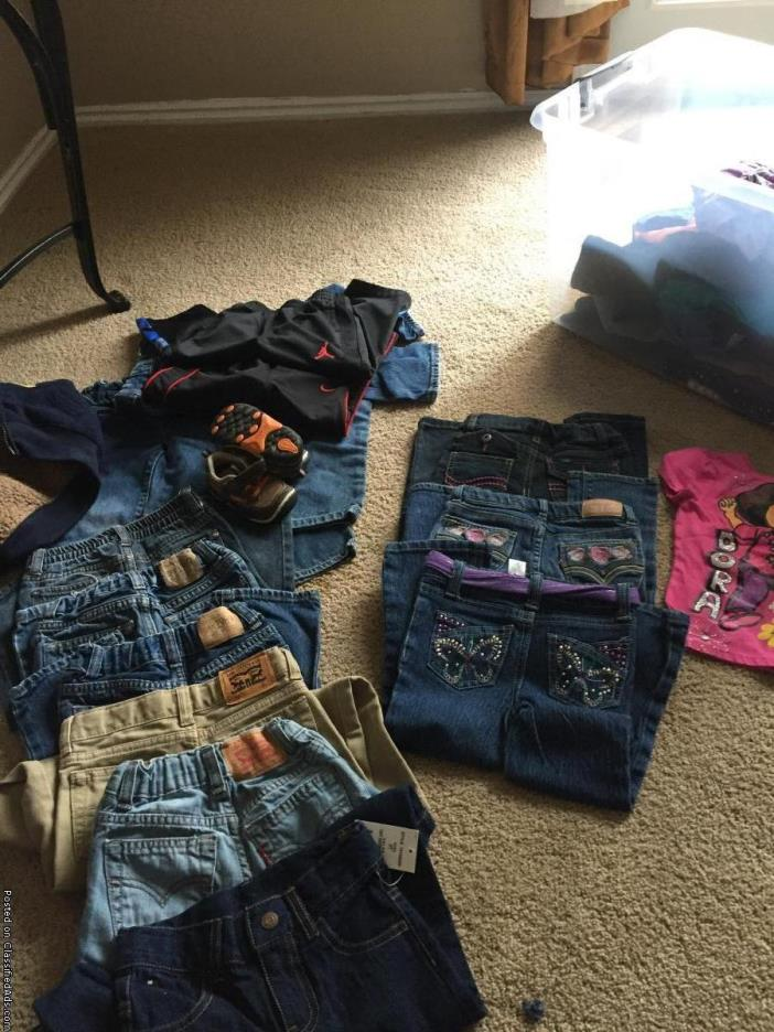Clothes for girls and boys