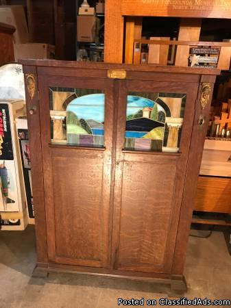 BEAUTIFUL Seeburg Style L Cabinet Nickelodeon - COME SEE