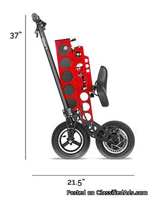 The most innovative Folding electric scooter designed&built in the USA