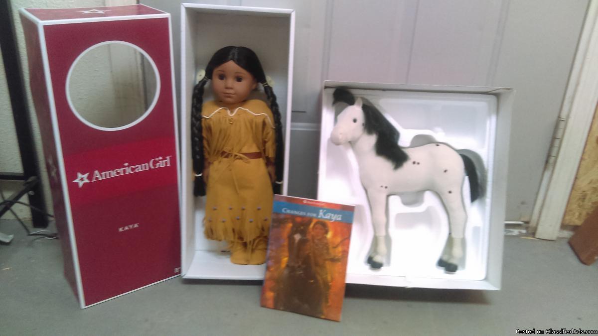 American dolls Julie & Kaya