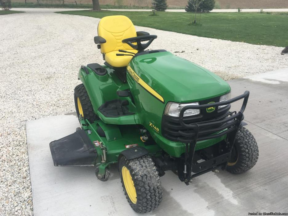 John Deere X748 Ultimate Special Edition 62