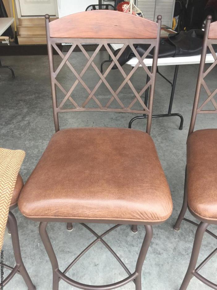 Bar stools - 3