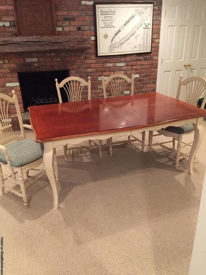 Drexel Heritage Dining Room Set (Table, chairs, buffet and bar stools)
