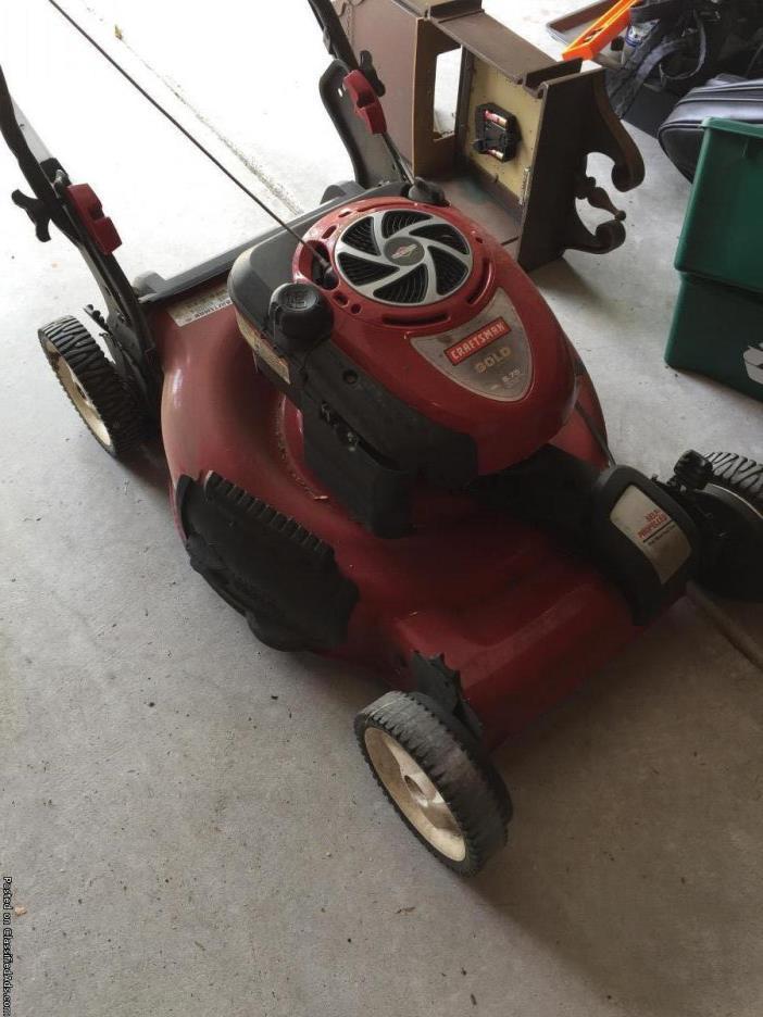 Craftsman Self Propelled Mower