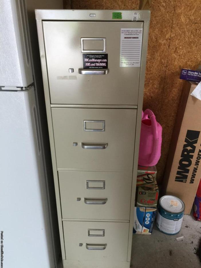 4 drawer metal filing cabinet for sale classifieds for Kitchen drawers for sale