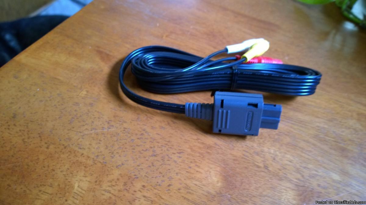 Genuine Nintendo OEM Video Cable
