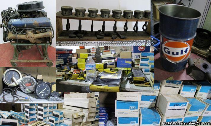 Huge Vintage Auto Parts Auction (New/Old Stock) June 19th-22nd