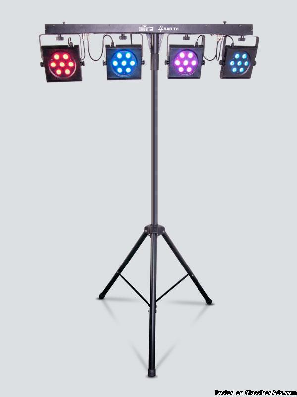 Chauvet 4 Bar Tri - DJ / Band / Stage Lights x 2