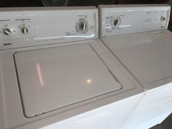 ROCK SOLID KENMORE WASHER DRYER. FREE DELIVRTY FREE INSTALL