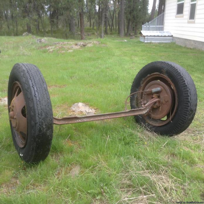 Straight axle 28 Chev truck