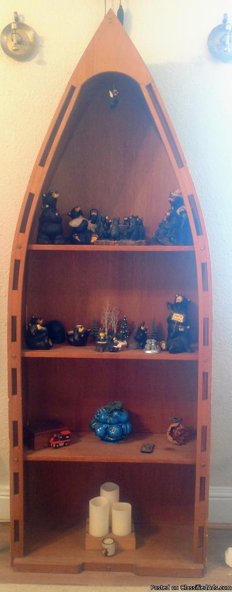 Canoe shelf