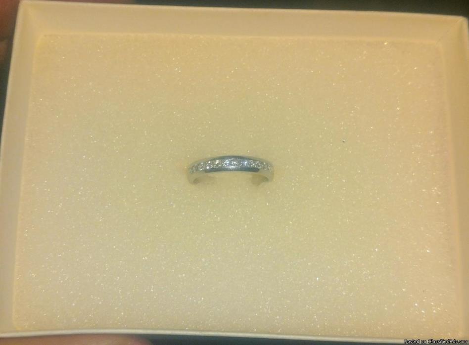 1/4 carat band size 5