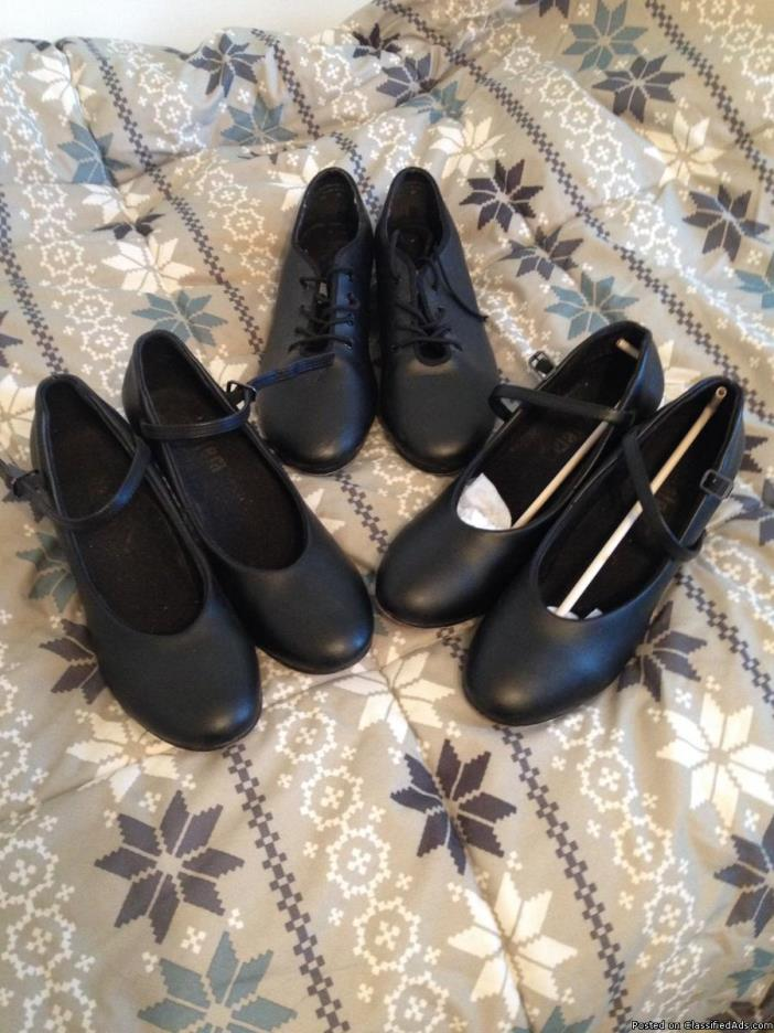 Girl's Tap Shoes and Dance Shoes