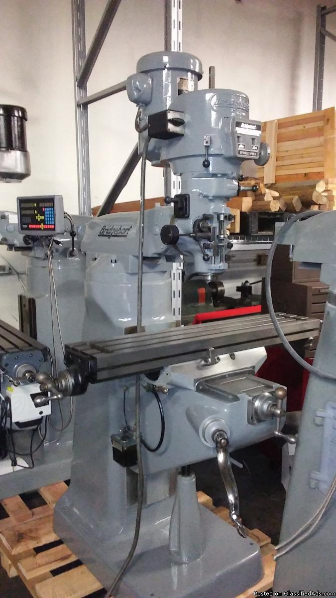 Need a Recondition Bridgeport  Milling Machine Toolroom Lathe Torno
