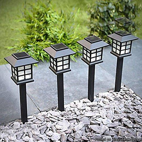 Sogrand 8pcs-Pack Solar Lights Outdoor