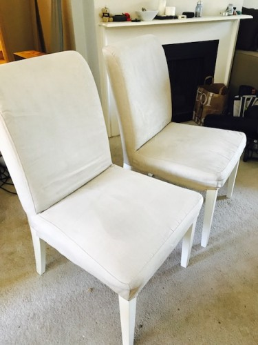 Very New - Dinning Chairs 2pcs ASAP - $80