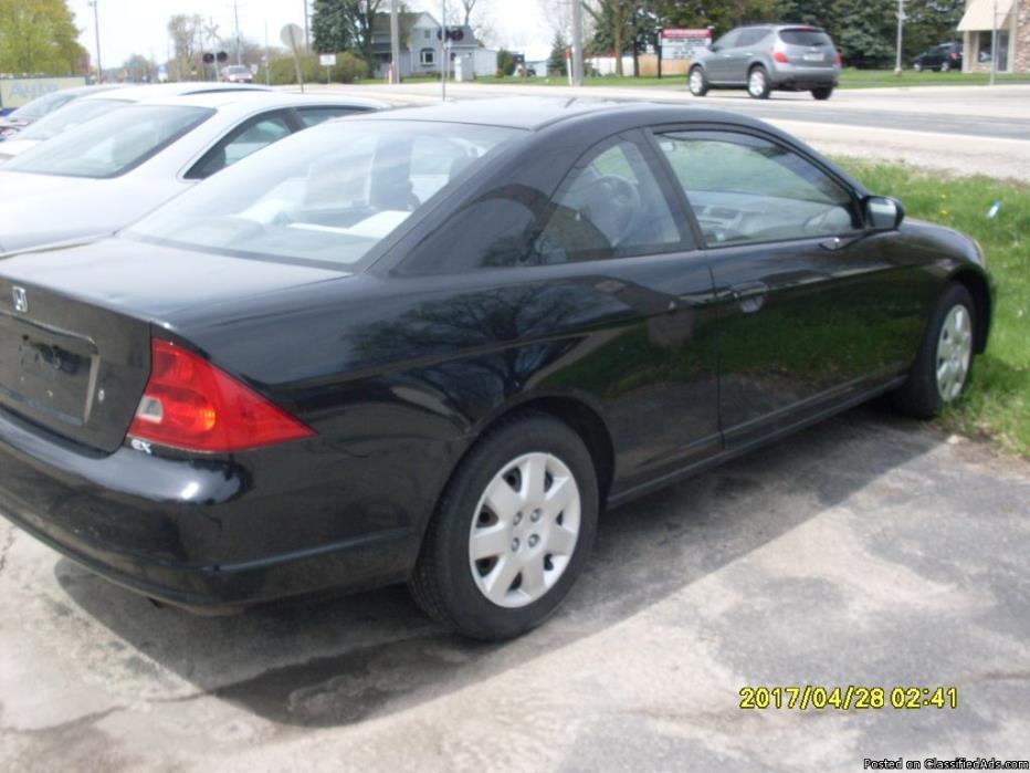 2002 Honda Civic XE