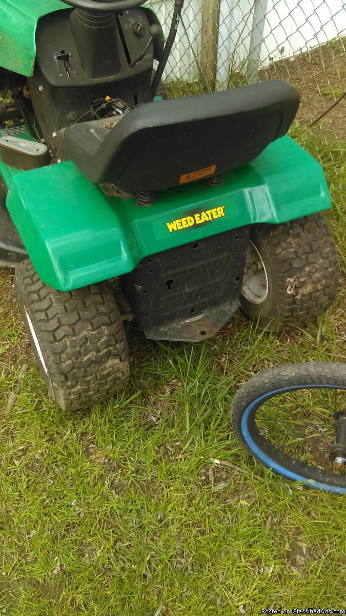 Yard machine rider mower