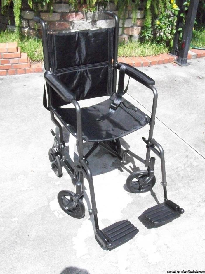 TRANSPORT WHEELCHAIR (standard size)