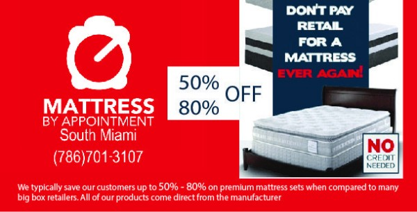 **MATTRESS CLEARANCE SALE**