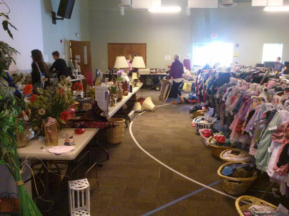 Annual Faith Bible Church Yard Sale