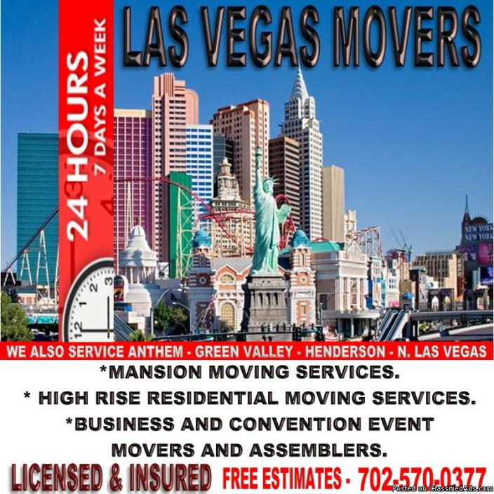 Community Big Events Movers And Assemblers