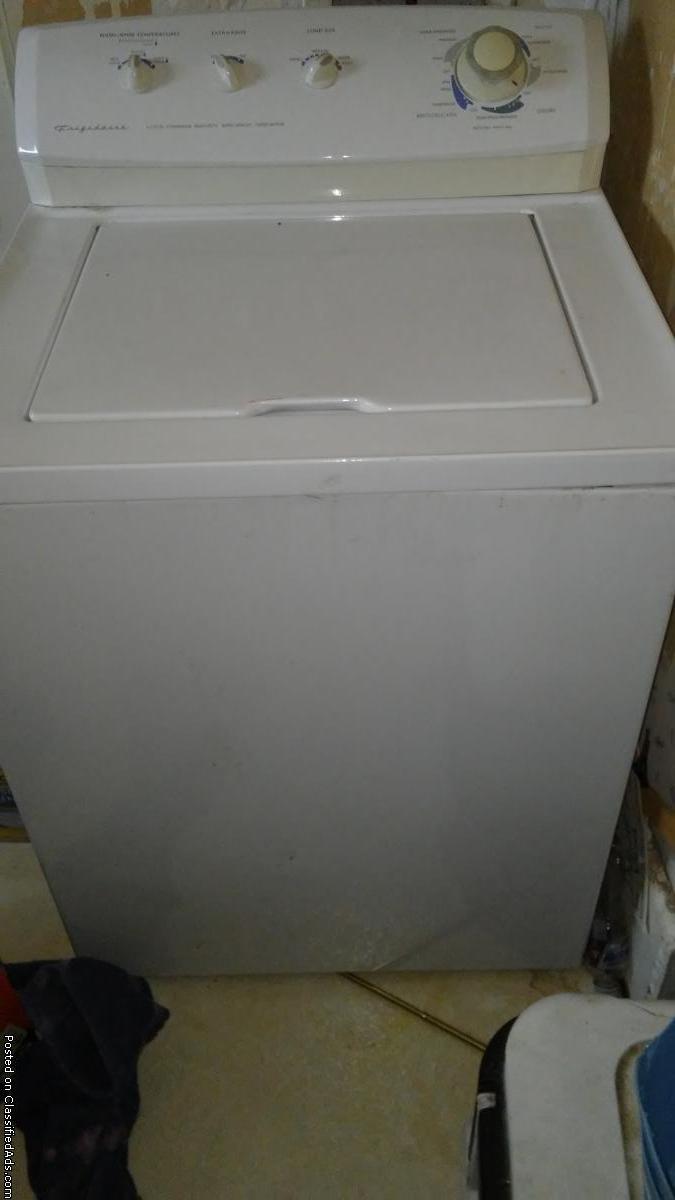 Frigidare washer