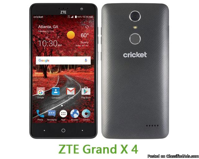 ZTE GRAND X 4 @ CRICKET WIRELESS LIVONIA!!!