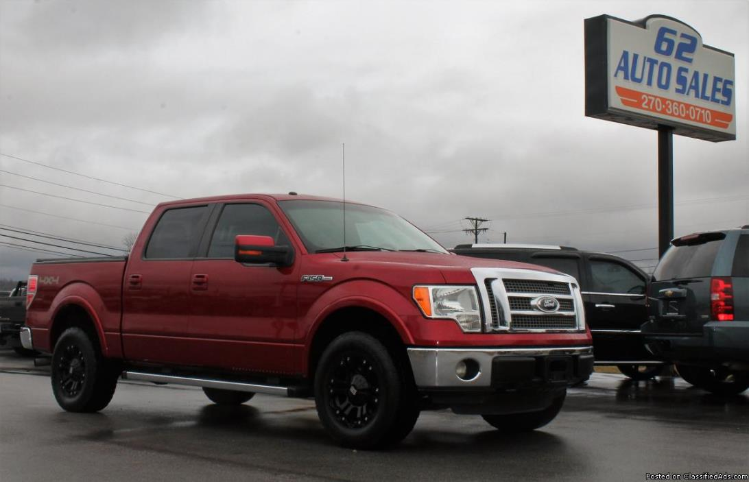 2011 Ford F150 Lariat Crew Cab 4x4 *LOADED CLEAN SOUTHERN TRUCK* #10607