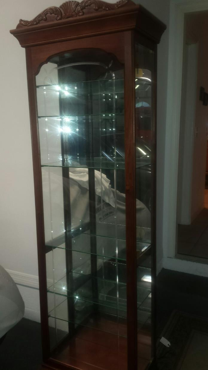 Like New Curio Cabinet