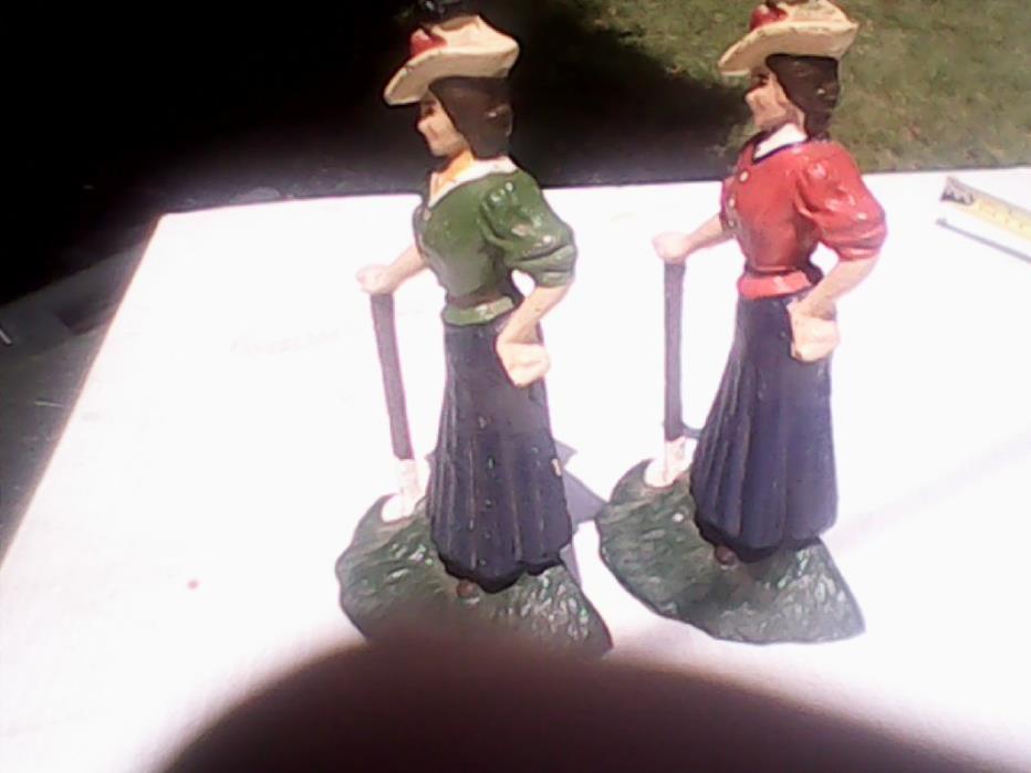 cast iron golf ladies