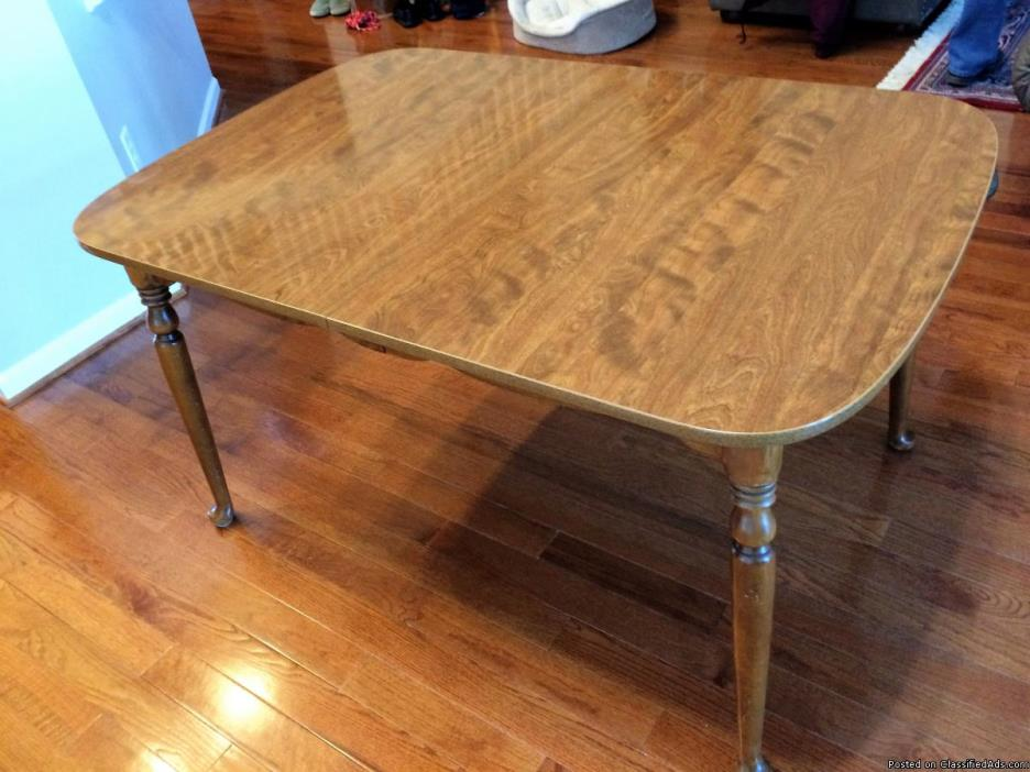 Maple Dining Table, Ethan Allen