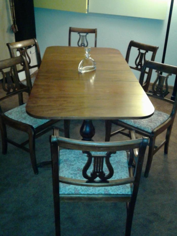 Duncan phyfe dinning room furniture