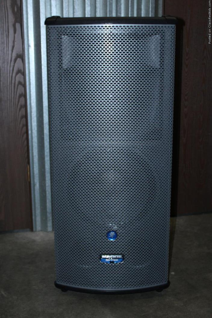 Pair of Mackie 1530z Speakers