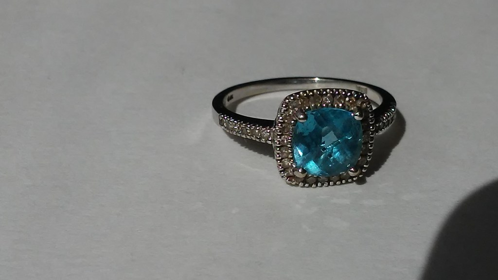 10 Carat Gold Birthstone ring