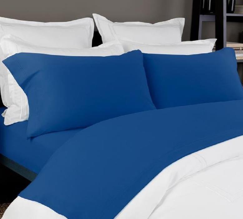 Jersey Knit Sheet in Cobalt Blue Color