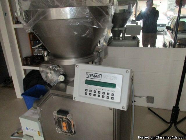 Vemag Robot 500 Vacuum Filler w/ Guillotine RTR#7022863-01