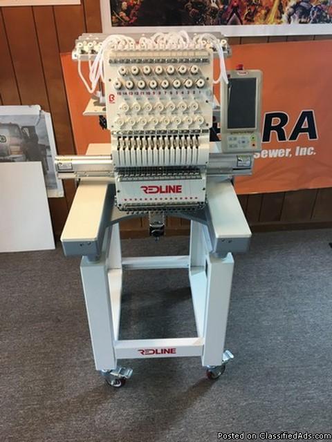 2016 Redline 1501 Embroidery Machine RTR#7033096-01