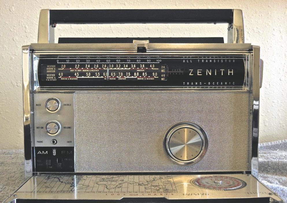 Zenith Trans-Oceanic All Transistor
