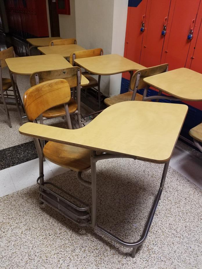FREE student desks, chairs, and chairs
