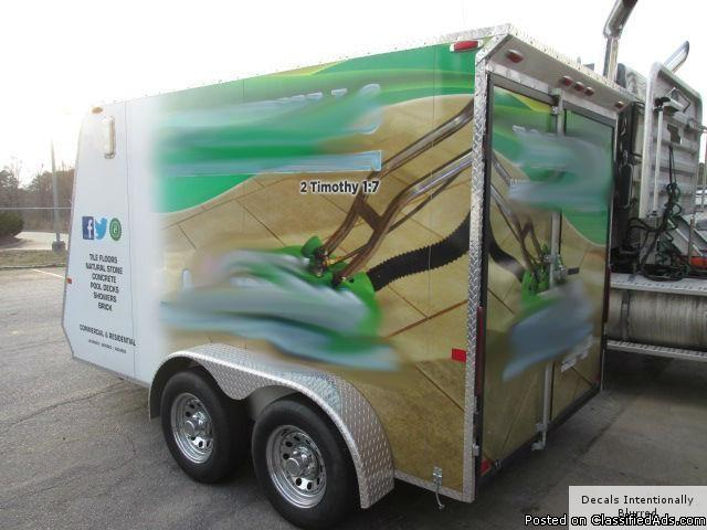 2011 Carpet CleaningTrailer RTR#6023372-01
